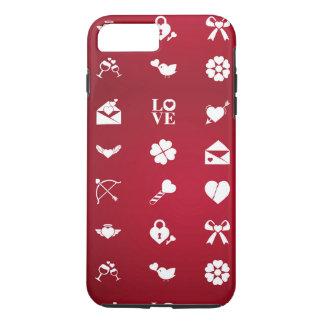 Valentine icons Case-Mate iPhone case