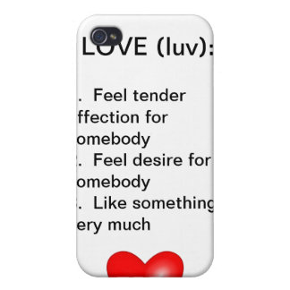 Valentine Cover For iPhone 4