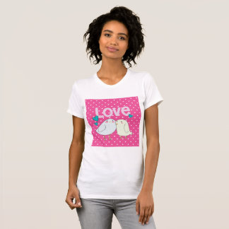 Valentine Love Birds T-Shirt