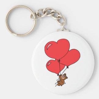 Valentine Love Stuffed Bear Cute Keychain