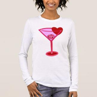 Valentine Martini Long Sleeve T-Shirt