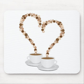 Valentine morning mousepad