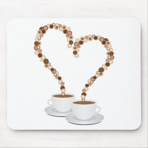 Valentine morning mousepad