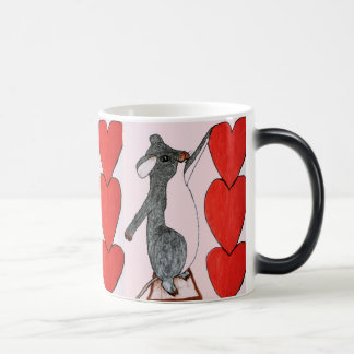 VALENTINE MOUSE morphing mug