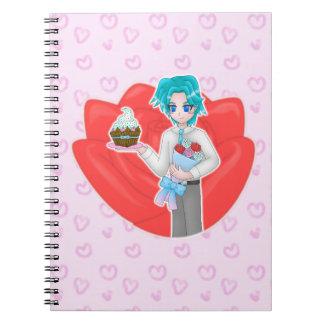 valentine notebook