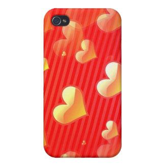 Valentine Pattern iPhone 4 Case