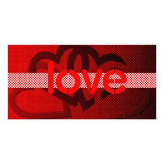 Valentine Custom Photo Card