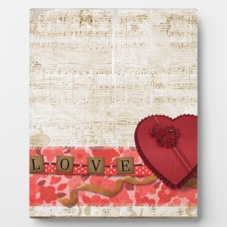 Valentine Plaque