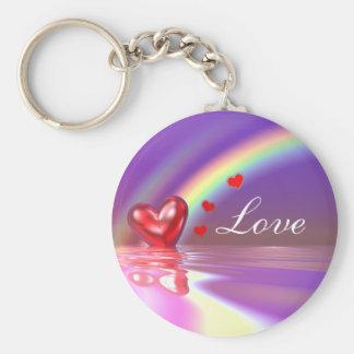 Valentine Reflections Keychain