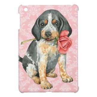 Valentine Rose Bluetick iPad Mini Cover