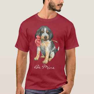 Valentine Rose Bluetick T-Shirt