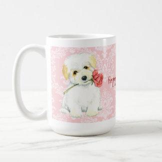 Valentine Rose Coton Coffee Mug