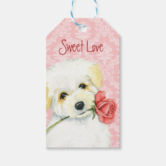 Valentine Rose Coton Gift Tags
