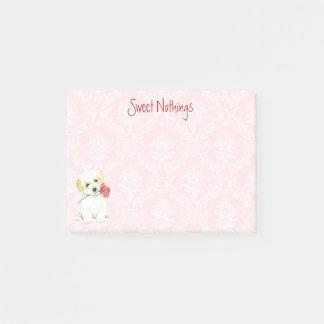 Valentine Rose Coton Post-it Notes