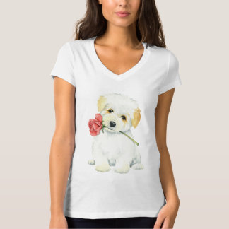 Valentine Rose Coton T-Shirt