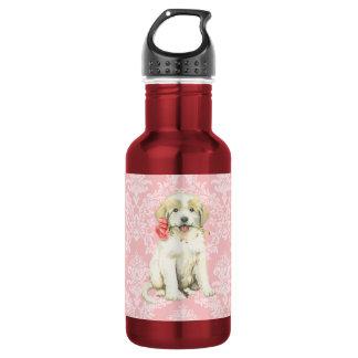 Valentine Rose Great Pyrenees 532 Ml Water Bottle