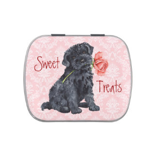 Valentine Rose Kerry Blue Terrier