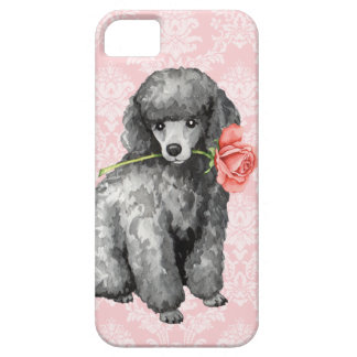 Valentine Rose Miniature Poodle iPhone 5 Covers