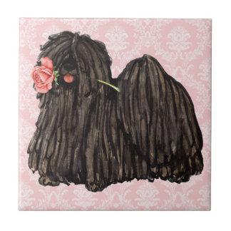 Valentine Rose Puli Tile