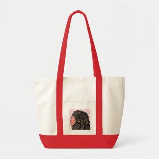 Valentine Rose Puli Tote Bag