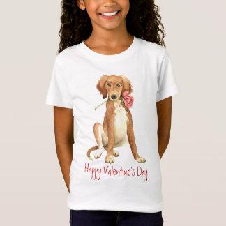 Valentine Rose Saluki T-Shirt