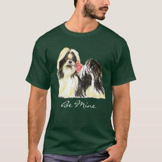 Valentine Rose Shih Tzu T-Shirt