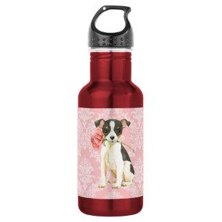 Valentine Rose Toy Fox Terrier 532 Ml Water Bottle