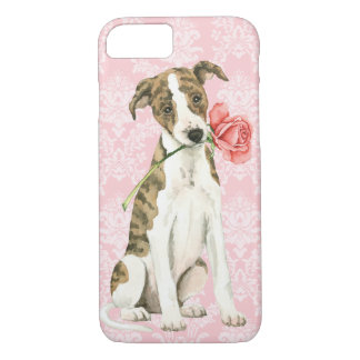 Valentine Rose Whippet iPhone 8/7 Case