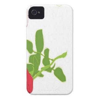 Valentine roses design Case-Mate iPhone 4 case