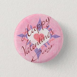 Valentine's Day 1 Inch Round Button