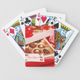 Valentine' S Day: Coffee & Chocolate Eighteen Bicycle Playing Cards
