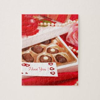 Valentine' S Day: Coffee & Chocolate Eighteen Jigsaw Puzzle