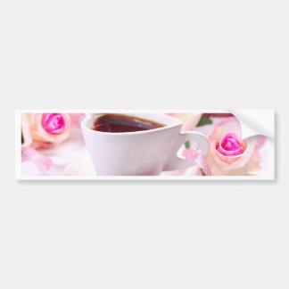 Valentine' S Day: Coffee & Chocolate Seventeen Bumper Sticker