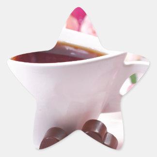 Valentine' S Day: Coffee & Chocolate Seventeen Star Sticker