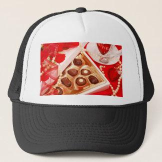 Valentine' S Day: Coffee & Chocolate Sixteen Trucker Hat