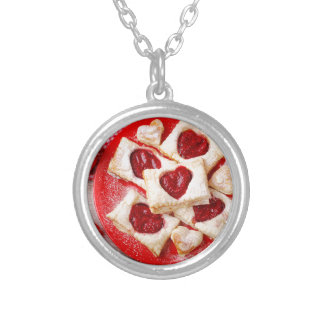 Valentine' S Day: Coffee & Chocolate Ten Silver Plated Necklace