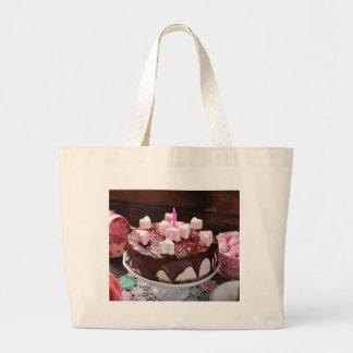 Valentine' S Day: Coffee & Chocolate Twenty Large Tote Bag