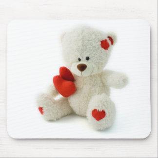 Valentine's Day Teddy Bear Mousepad