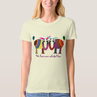 Valentine t-shirts: We have one colorful love T-Shirt
