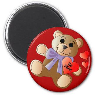 Valentine Teddy Bear Magnet