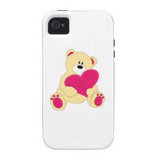 Valentine Teddy Case-Mate iPhone 4 Covers