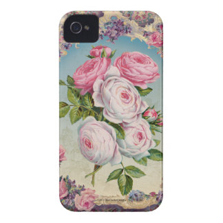 Valentine Victorian Roses iPhone 4 Covers