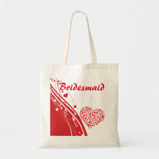 Valentine Wedding Bridesmaid Gift Budget Tote Bag