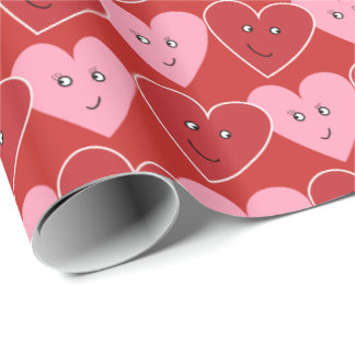 Valentine wrapping paper