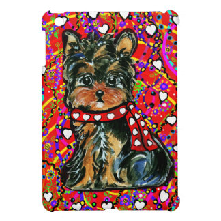 Valentine Yorkie Poo Case For The iPad Mini