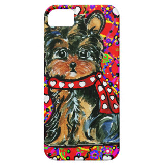 Valentine Yorkie Poo Case For The iPhone 5