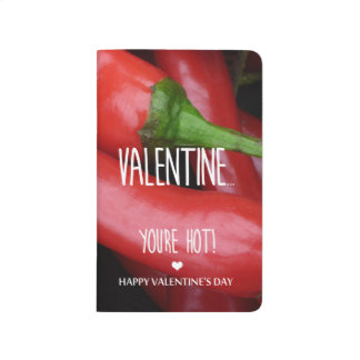 Valentine, you are hot! journal