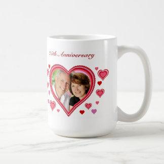 Valentine's Anniversary Heart Mug