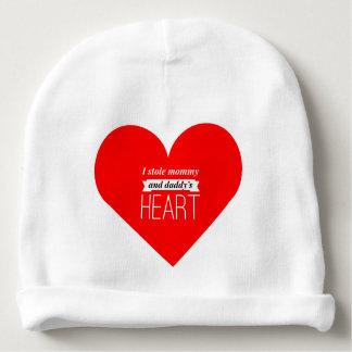 Valentines baby beanie
