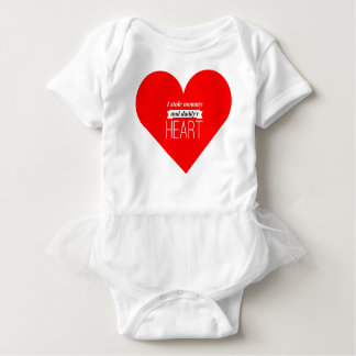 Valentines Baby Tutu T-shirt
